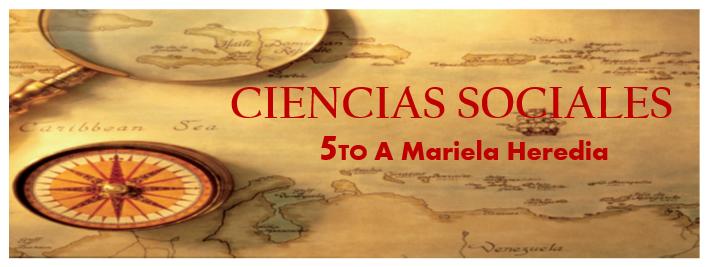 CIENCIAS SOCIALES QUINTO A