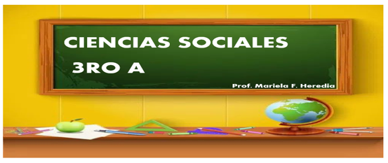 CIENCIAS SOCIALES TERCERO A